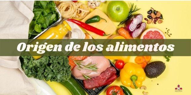 Origen de los alimentos
